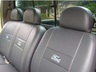 Capa 100% Couro Para Ford F250 F350 F1000 F4000 + 2 Brindes