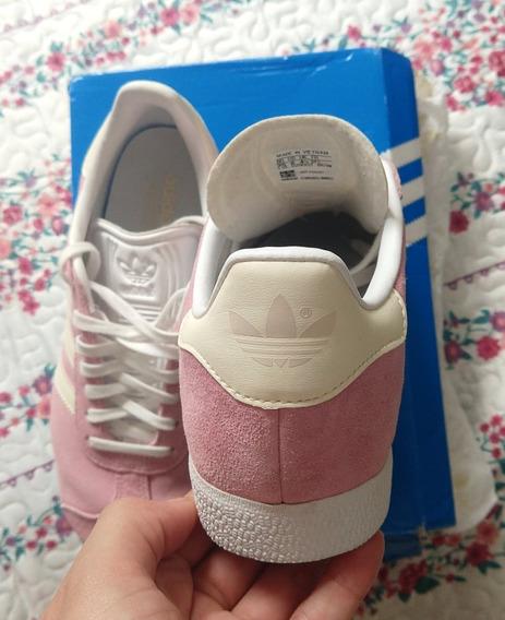 Tenis adidas Gazelle Rosa