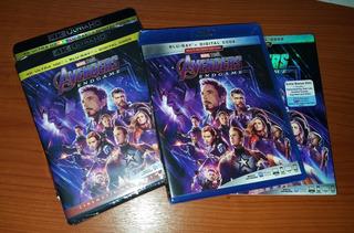 Avengers Endgame 2019 Blu-ray 4k Original Marvel Pelicula