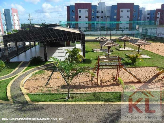 Apartamento Para Venda Em Natal, Pitimbu, 2 Dormitórios, 1 Banheiro, 1 Vaga - Ka 0755