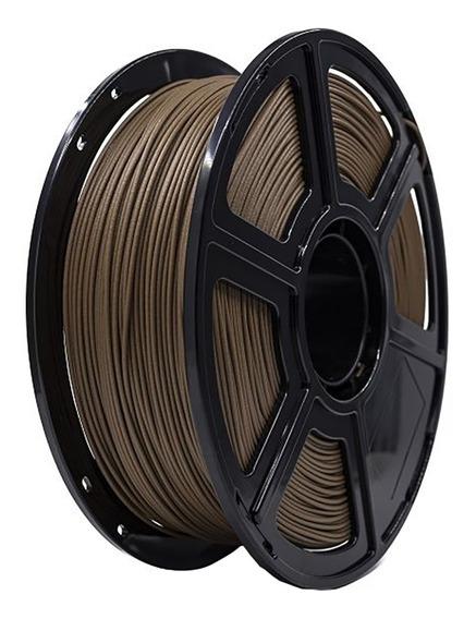 Filamento 3d 1kg Impressoras Flashforge Pla Madeira Escura