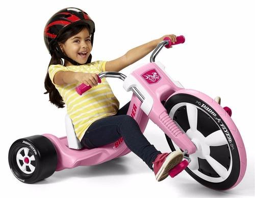 Triciclo Radio Flyer Deluxe Big Flyer, Pink