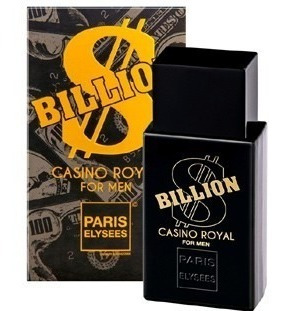 Perfume Billion Casino Royal Paris Elysees 100 Ml - Original