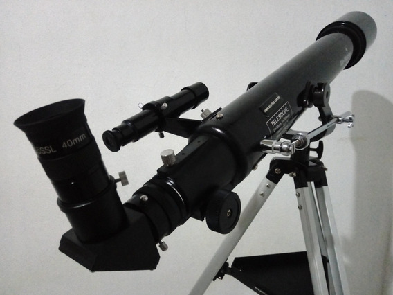 Telescópio Sky-watcher 70mm + 11 Acessórios + Binóculos 7 Km
