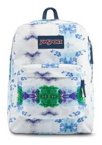 Mochila Jansport Original Superbreak Avocado Estampados 2019