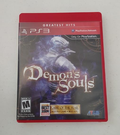 Jogo Demons Souls - Ps3 - Original - Mídia Física - Usado