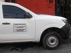 Nissan Np300 Estaquitas Chasis Cabina 2016, De Aseguradora.