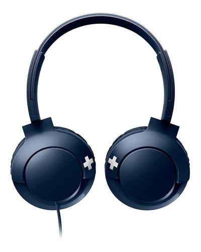 Imagen 1 de 3 de Auriculares Philips BASS+ SHL3075 azul