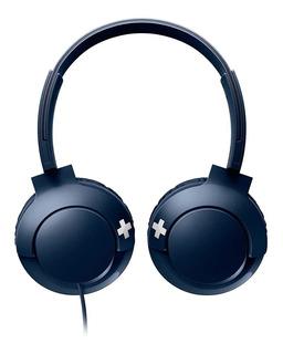 Auriculares Philips BASS+ SHL3075 azul