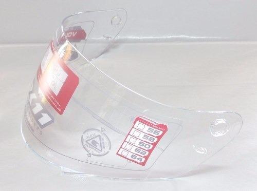Viseira Capacete X11 Volt Cristal Original