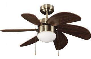 Ventilador De Techo Con Lampara Incluida 81 Cm