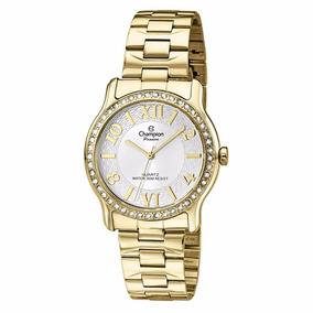 Relógio Champion Passion Feminino Dourado Ch25703h Original