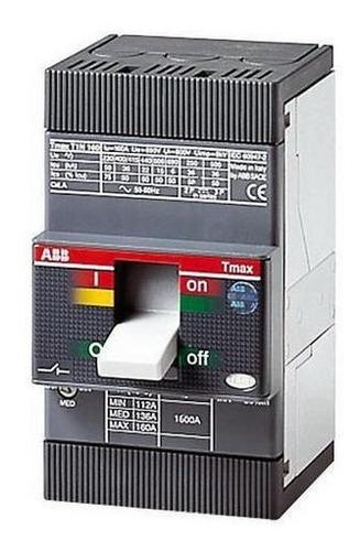 Breaker Abb 3x80a Caja Moldeada T1b 160 Tmd 80-800