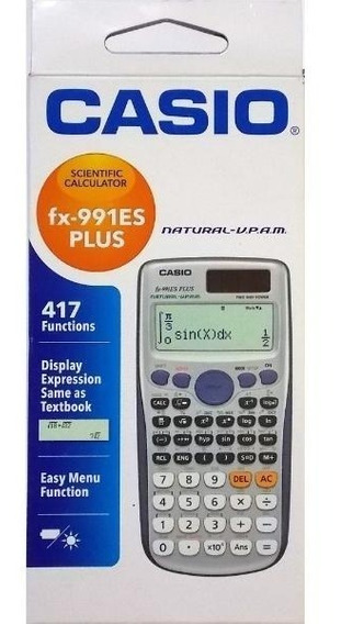 Calculadora Original Científica Fx-991es Plus Casio