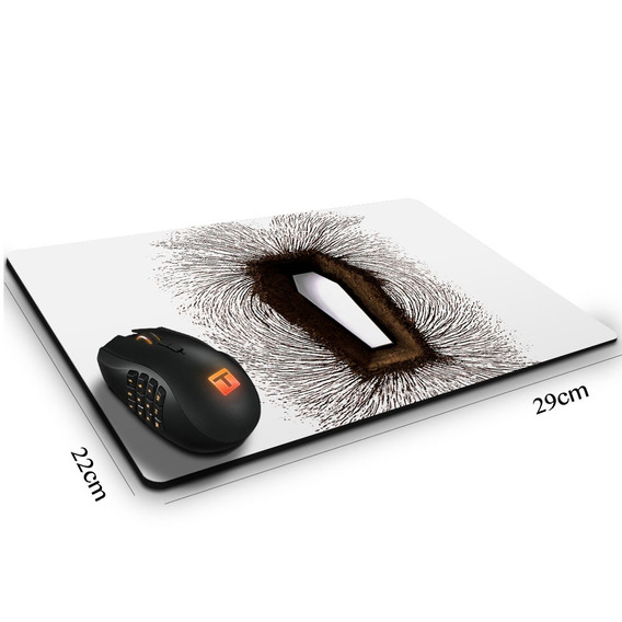Mouse Pad Heavy Metal Metallica Death Magnetic 29 Cm