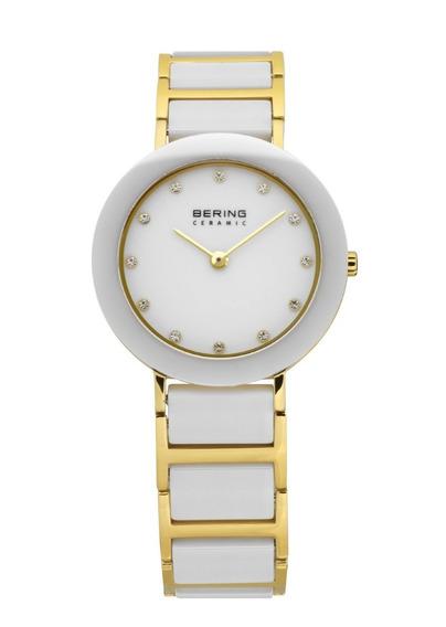 Reloj Bering Ceramic Acero Inox Dorado Mujer 11429-751