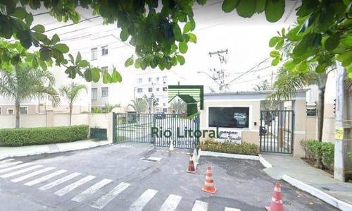 Apartamento À Venda, 50 M² Por R$ 190.000,00 - Jardim Mariléa - Rio Das Ostras/rj - Ap0570