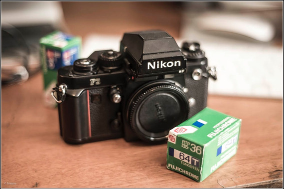 Nikon F3 Hp + Capa Original