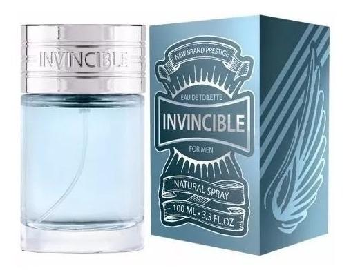 Perfume Invincible New Brand Masc. 100ml - Promocão