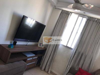 Apartamento Com 2 Dormitórios À Venda, 47 M² Por R$ 212.000 - Loteamento Parque São Martinho - Campinas/sp - Ap5476