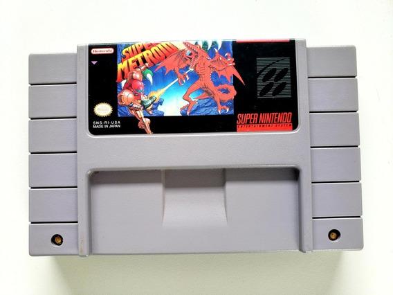 Super Metroid Original Snes