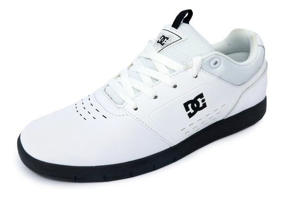 Tênis Dc Thesis Preto E Branco