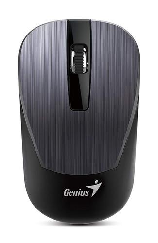 Imagen 1 de 2 de Mouse Inalambrico -usb Genius Nx-7015 -gris