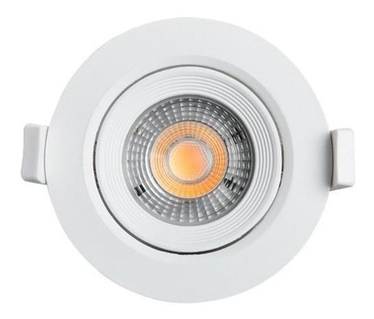 Kit 5 Spot Led 5w Embutir Dicroica Lâmpada Direcionável
