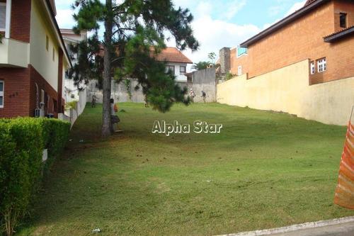 Terreno À Venda, 480 M² Por R$ 768.000,00 - Alphaville 10 - Santana De Parnaíba/sp - Te0793