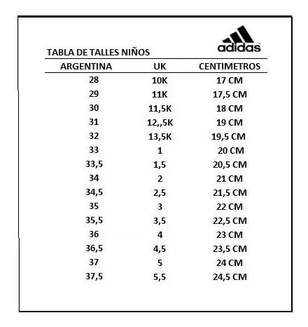 Personalmente Barriga elección  tallas de zapatillas adidas - Tienda Online de Zapatos, Ropa y Complementos  de marca
