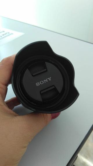 Lente Sony 35mm Sel F1.8 Oss (nova)