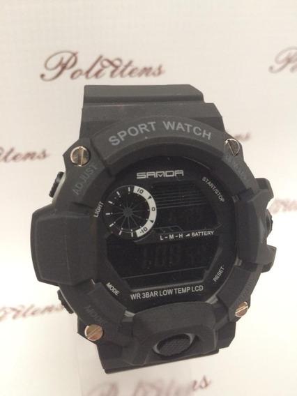 Relógio Masculino Pulso Esportivo Luxo A Prova D