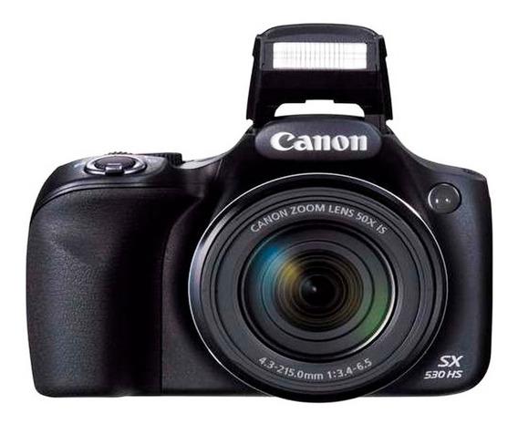Canon Powershot Sx530 Hs Cámara 16mp Full Hd 1080 50x Wi Fi
