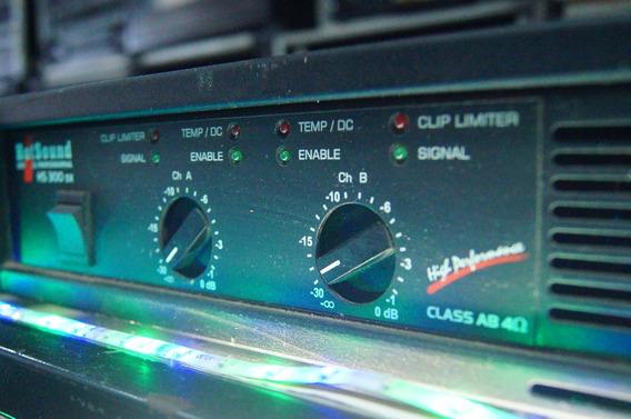 Potencia Amplificador Hot Sound Hs300sx - Saldão Solusom