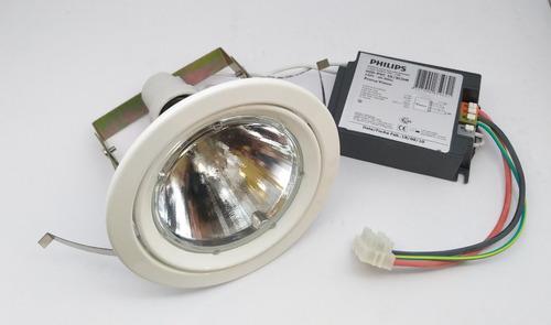 Kit Spot + Lâmpada + Reator Cdmr Par30 35w 10º 3000k Philips