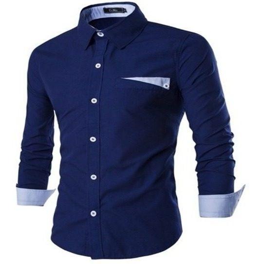 Camisa Camisete Masculina Slim Fit Original Mag Estilo Men´s