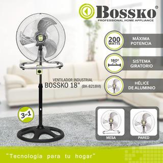 Ventilador Industrial Boskko Techo Pared Model2019 200 Watts