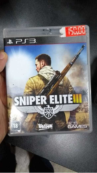 Sniper Elite 3 Iii Ps3 (frete 18 Reais)
