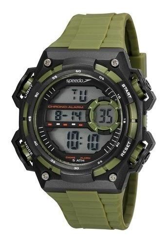 Relógio Speedo Masculino Ref: 81198g0evnp2 Militar Digital