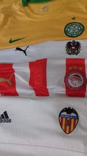 3 Camisas Futebol adidas Puma Nike Valencia Celtic.. Leia!