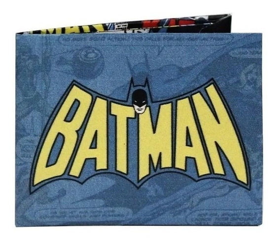 Billetera Tyvek Super Resistente Eco Wallet Modelo Batman 1