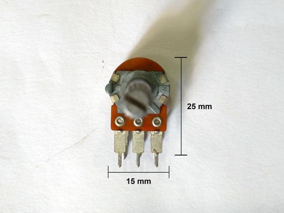 Potenciômetro Duplo Sem Derivação 2 X 5k Com Graduação