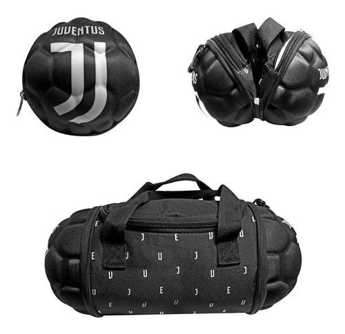 Imagem 1 de 4 de Lancheira Termica C/ Eva Formato Bola Juventus