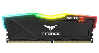 Memoria 8gb 2x4gb Delta Team Led Rgb Ddr4 2400mhz Black Htg