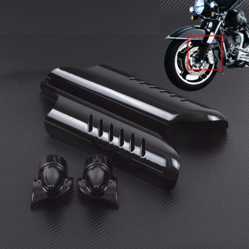 Covers Negros De Suspension Para Harley Touring 00-13