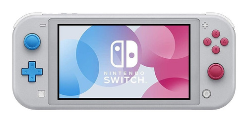 Nintendo Switch Lite Pokemon Zacian And Zamazenta Edition