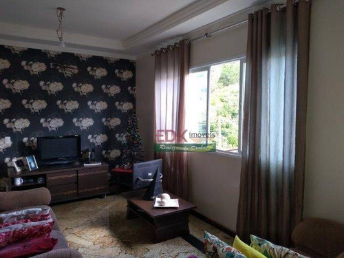 Sobrado Com 3 Dormitórios À Venda, 125 M² Por R$ 420.000,00 - Parque Interlagos - São José Dos Campos/sp - So2431