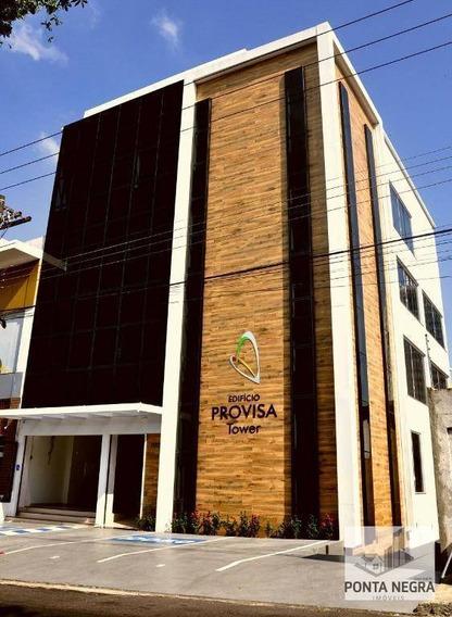 Andar Corporativo Para Alugar, 132 M² Por R$ 6.500,00/mês - Dom Pedro - Manaus/am - Ac0002