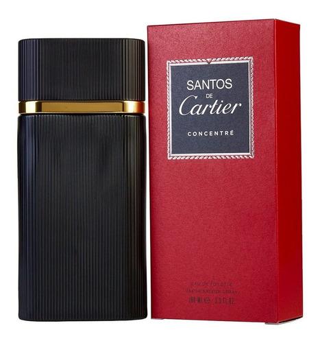 Perfume Original Santos De Cartier Concentrado Hombre 100ml