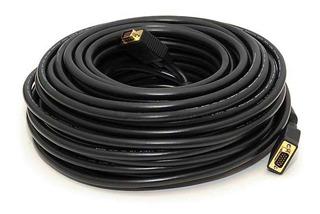Cable Vga 30 Mts Premium Monoprice M M 15pines Gold 6 Cuotas